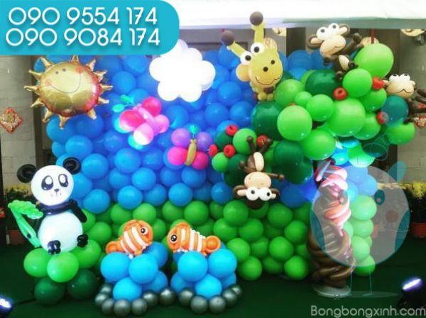 Tường bong bóng cho sinh nhật bé TBB039