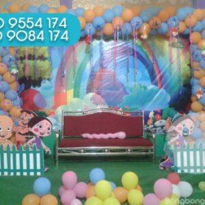 Sân khấu trang trí sinh nhật SK056