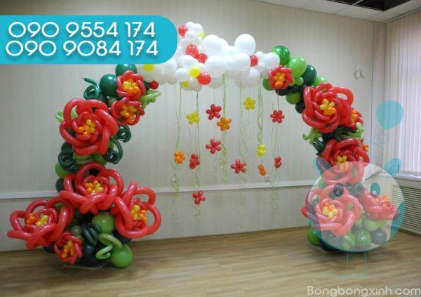 Trang trí cổng chào sinh nhật CB148