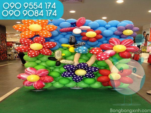 Tường bong bóng trang trí sự kiện TBB044