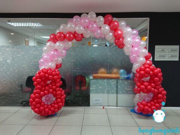 cổng chào sự kiện CD157