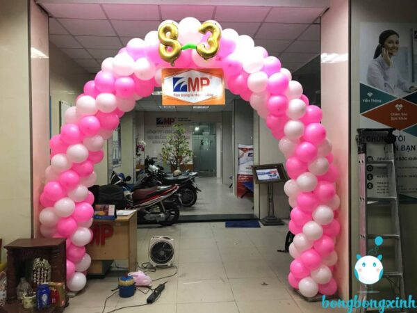 cổng chào sự kiện CD162