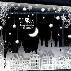 Backdrop sinh nhật chủ đề đêm trăng BBBN128