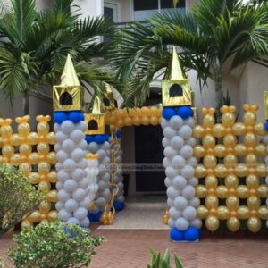 Cổng chào sinh nhật lâu đài CB136