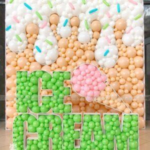 Tường bong bóng Ice Cream trang trí Party TBB053