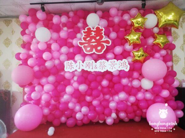 Backdrop sinh nhật phong cách Trung Hoa BBX054