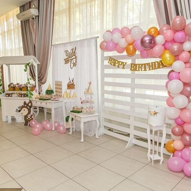 Phụ kiện trang trí sinh nhật bé Nina 6