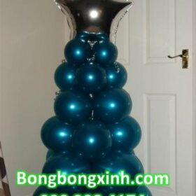 Trang trí Noel với bong bóng xinh hiện đại và xinh đẹp