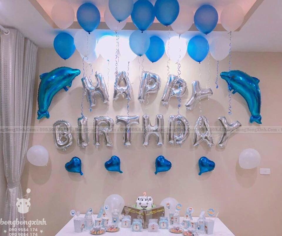Hướng dẫn cách trang trí sinh nhật tại nhà