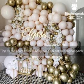 Top 10 sản phẩm trang trí bong bóng nổi bật tại BongBongXinh