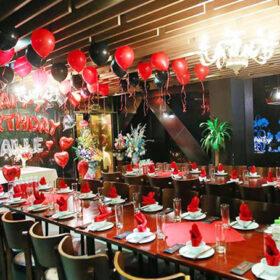 Gợi ý trang trí sinh nhật màu đỏ lung linh và xinh đẹp