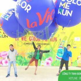 Khinh khí cầu sự kiện tại nước khoáng LAVIE quận 12