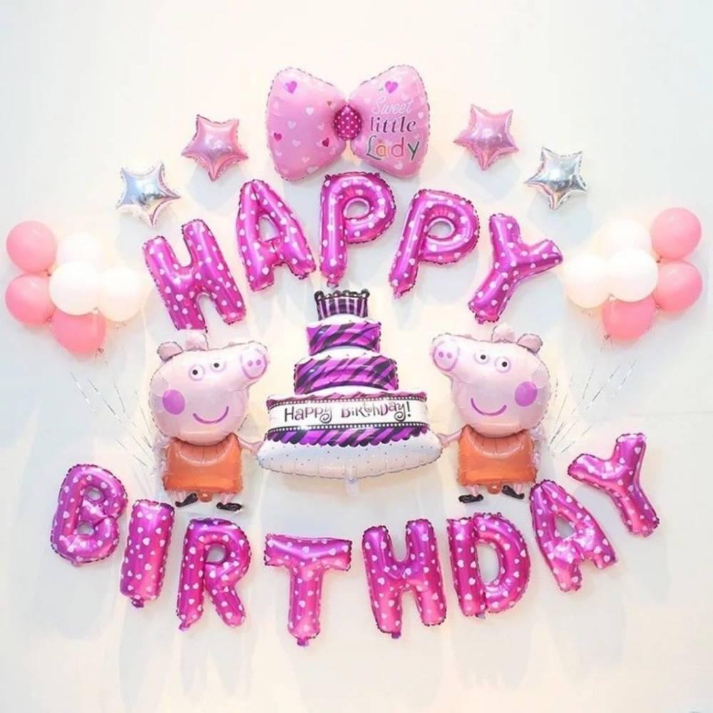 Top những sản phẩm bong bóng chữ happy birthday đẹp mà mọi sinh nhật ưa dùn
