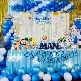 Gợi ý trang trí sinh nhật màu xanh dương thật ý nghĩa và sang trọng