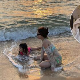 Con gái Mít sốc vì mới 3 tuổi đã bơi được 2 vòng bể bơi người lớn, bí mật là đây
