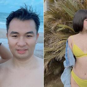 Ngày lễ hội hot mom: Vợ cũ Việt Anh khoe dáng với bikini bốc lửa, Thanh Vân Hugo tình tứ đi biển cùng bạn trai mới
