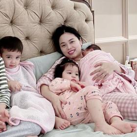 10 năm sau khi sinh 5 người con, Hằng Túi chưa một lần sử dụng thuốc kháng sinh