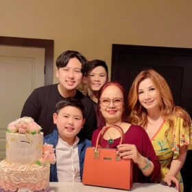 Trizzie Phương Trinh tổ chức sinh nhật cho mẹ Bằng Kiều 2021