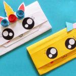 2 cách làm ví giấy dễ thương và độc đáo