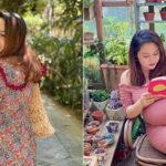 Ái nữ nhà diva Thanh Lam đi nghỉ dưỡng để chuẩn bị lâm bồn, bầu bự nhưng vẫn gây trầm lắng bởi nhan sắc quyến rũ